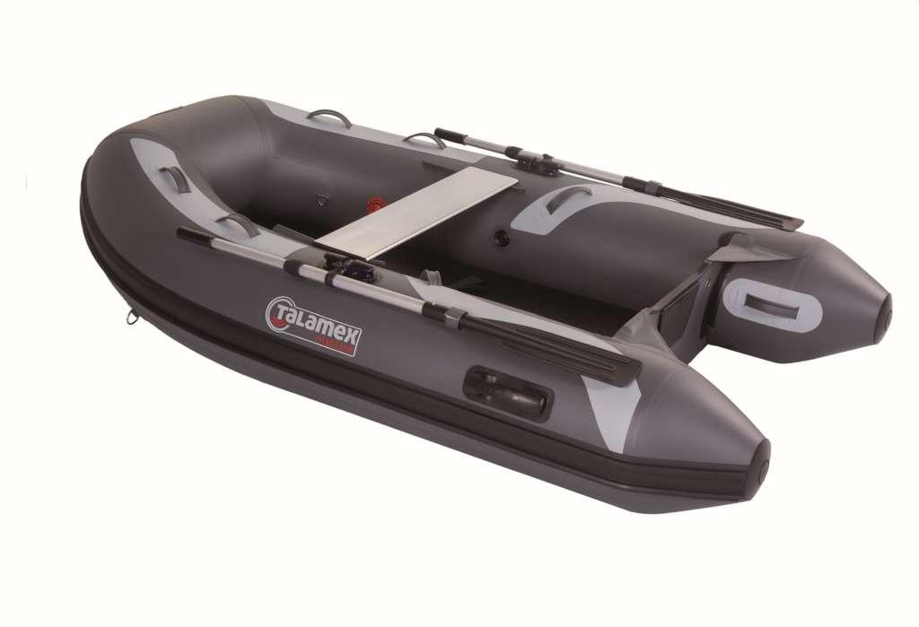 Talamex Highline Schlauchboote im edlen Grau für Saison 2021