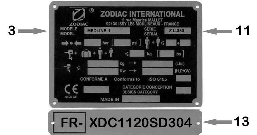 Zodiac Und Bombard Ersatzteile Bootshop Isselhorst Ihr