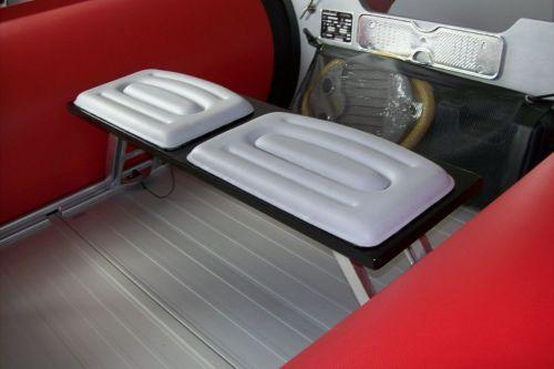 sitzbank f r schienensystem b 74 cm polster grau bootshop isselhorst ihr wassersport. Black Bedroom Furniture Sets. Home Design Ideas